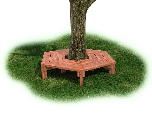 Tree Bench Natural Backyard Playspace And Outdoor Play Pinterest