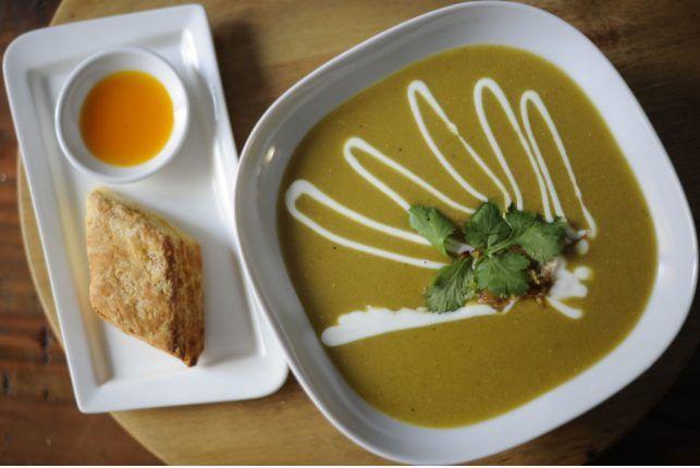Ravi Kanagarajah's Curried Lentil & Apricot Soup This is the best Sou...