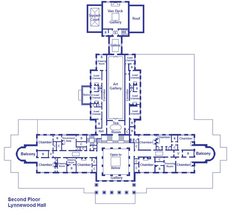 Lynnewood hall 2nd floor plan mansions other pinterest for Second floor design plans