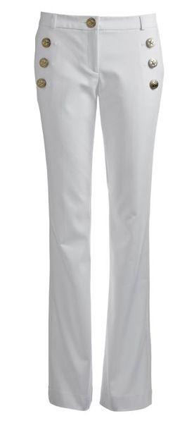 Calça branca com botões: R$ 179,90