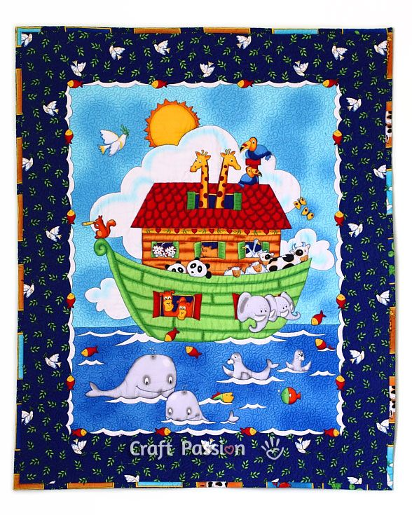 Baby Quilt Patterns Using A Panel : baby quilted blanket Crafts & DIY Projects Pinterest