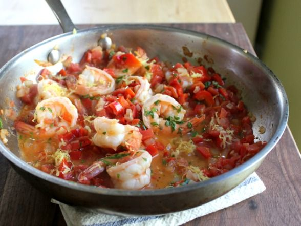 easy shrimp amp grits recipe this was delicious could cut the grits ...