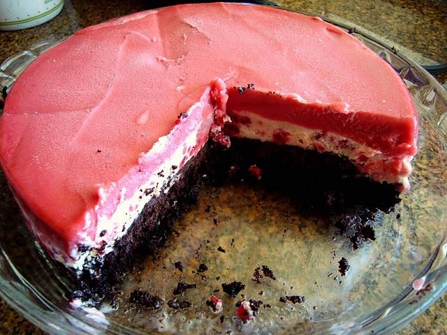 Easy Chocolate Berry Ice Cream Cake | satisfying my sweet tooth | Pin ...