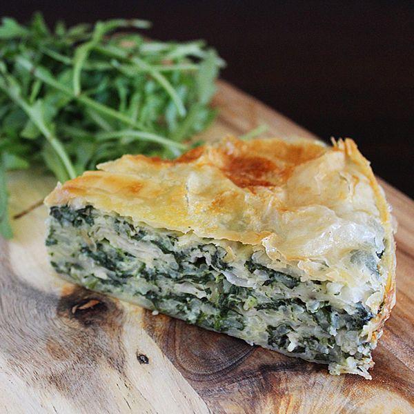 Spinach Pie | Git in Mah Belleh | Pinterest