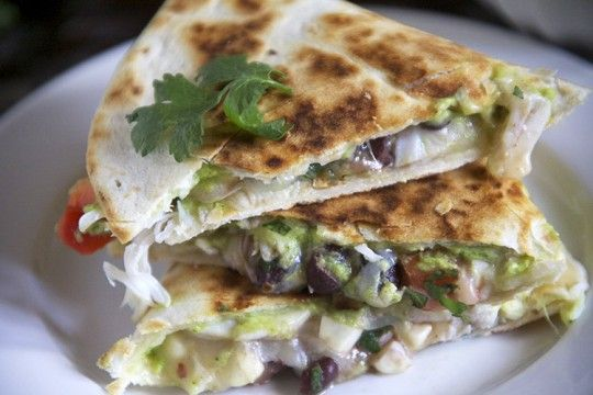 Lump Crab Avocado Quesadillas | The Pescetarian and the Pig.