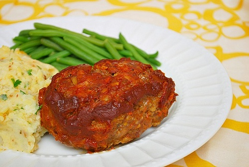 Lemon Herb BBQ Chicken With Sweet Mesquite Beans Recipe ...