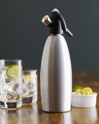 Classic Soda Siphon-make your own carbonated water.
