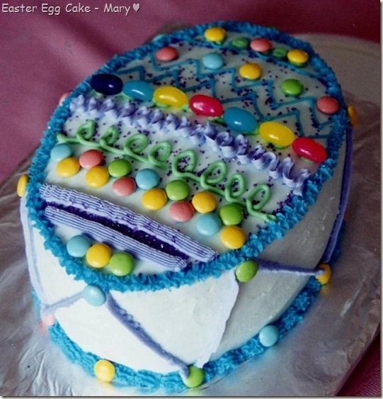 Easter Cake Decorating Challenge : Decorating an Easter Egg Cake! Easter Pinterest