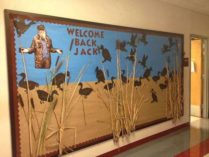 Welcome Back Jack Bulletin Board. PERFECT!