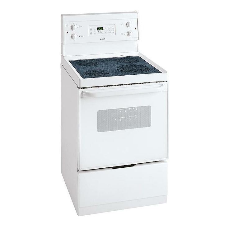 kenmore 28 cu ft 24 self cleaning electric range white sears
