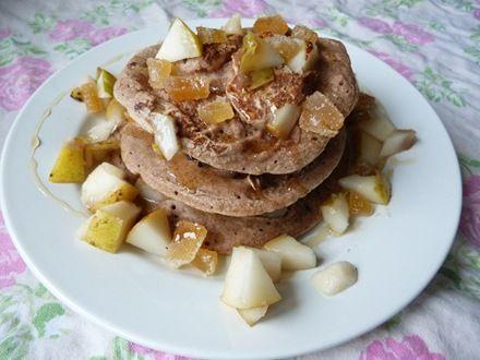 Pear and Ginger Spelt Pancakes   Ginger   Pinterest