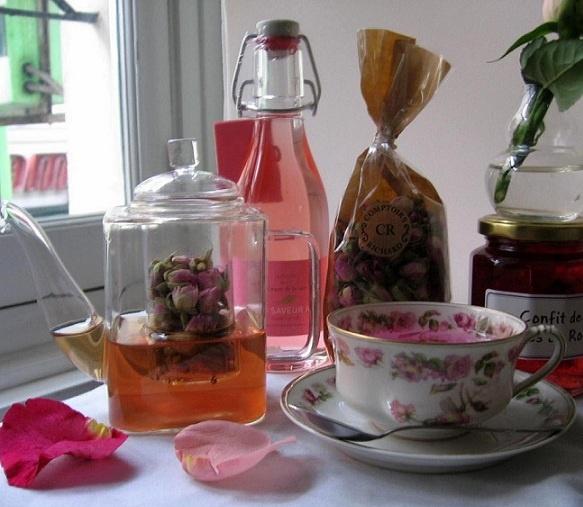 rose petal tea | Food!!! | Pinterest