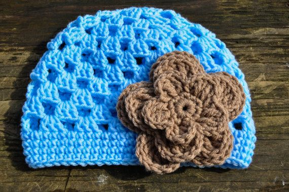 Crochet Stitch Open : Kids Trillium Beanie Open Stitch Crochet Hat by courtneyannabanana, $ ...