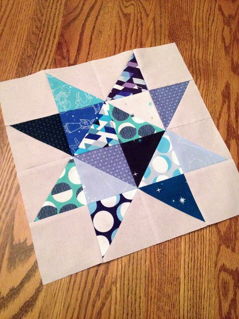Constellations by Lizzy House | Star Quilt Block