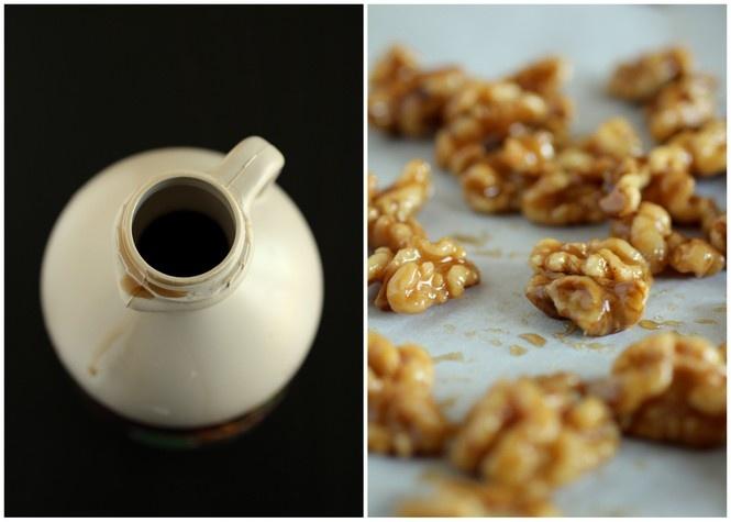 maple-candied-walnuts-recipe- | treats | Pinterest