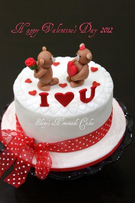 Images Of I Love U Cake : I love U cake Pinterest