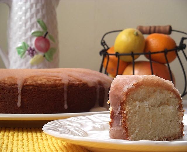 Grapefruit Pound Cake by Christiane Potts (aka the Mom Chef)