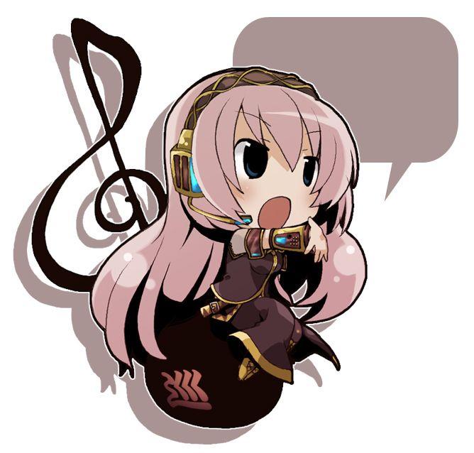 (VOCALOID) Luka Megurine Chibi | Anime otaku | Pinterest