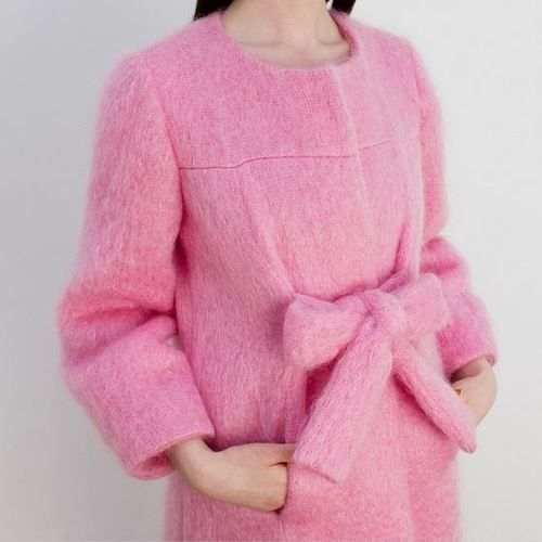 want a pink coat this season!