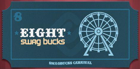 I won the limited edition 8 Swag Buck Bill at Swagbucks #swagbucks allhoneyhere