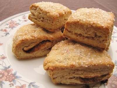 Flaky Cinnamon Layered Biscuits | Breads, Biscuits, Scones,Rolls, Muf ...