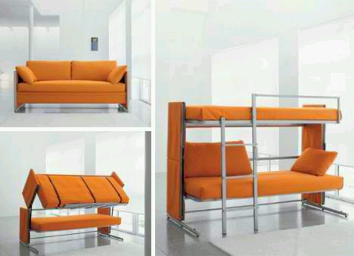 Couch converts into bunk bed.  Hacienda Accessories  Pinterest