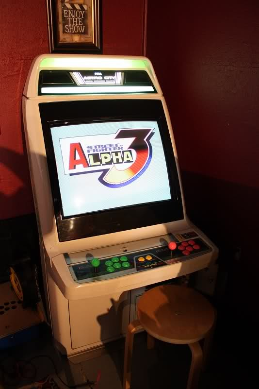 fighter 3 arcade machine