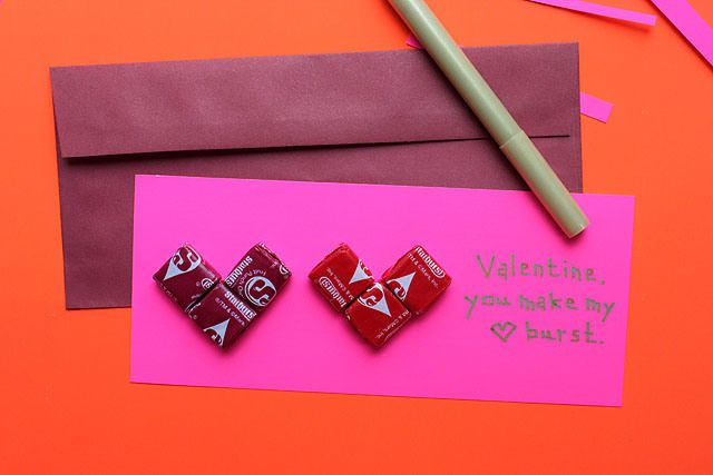 valentine heart envelope
