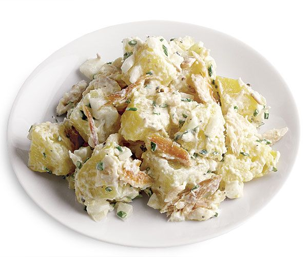 Potato Salad with Smoked Trout and Horseradish | Recipe