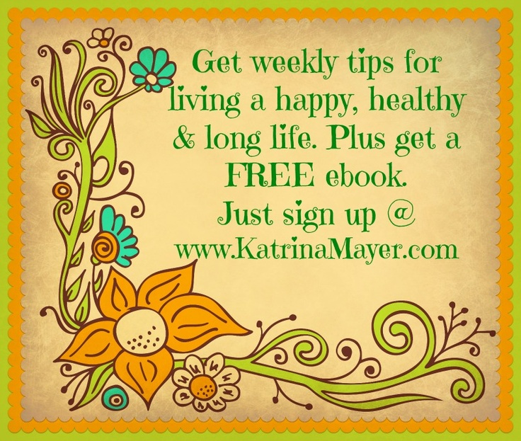 how to live a long happy healthy life