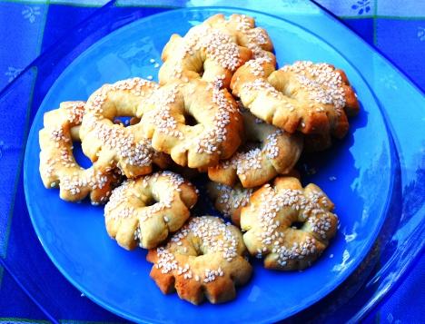 Biscotios or Sephardic Tea Biscuit | Algo Dulce | Pinterest