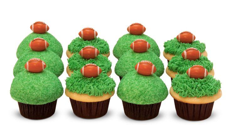 Tailgate cupcakes! #Seahawks #football #12thman