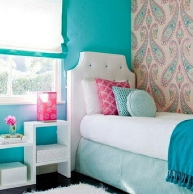 pink and teal room ellison s bedroom