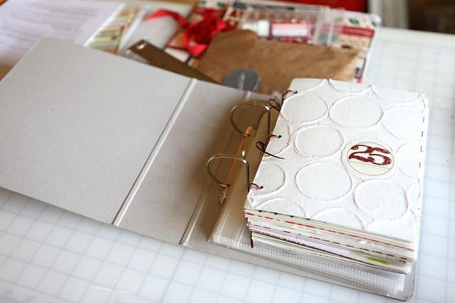 december daily 2011 studio calico album sneak peek by ali edwards, via Flickr