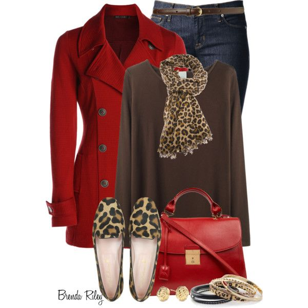 """Nic+Zoe Red Jacket"" by brendariley-1 on Polyvore"