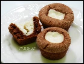 Gingerbread Cheesecake Thumbprint Cookies Recipes — Dishmaps