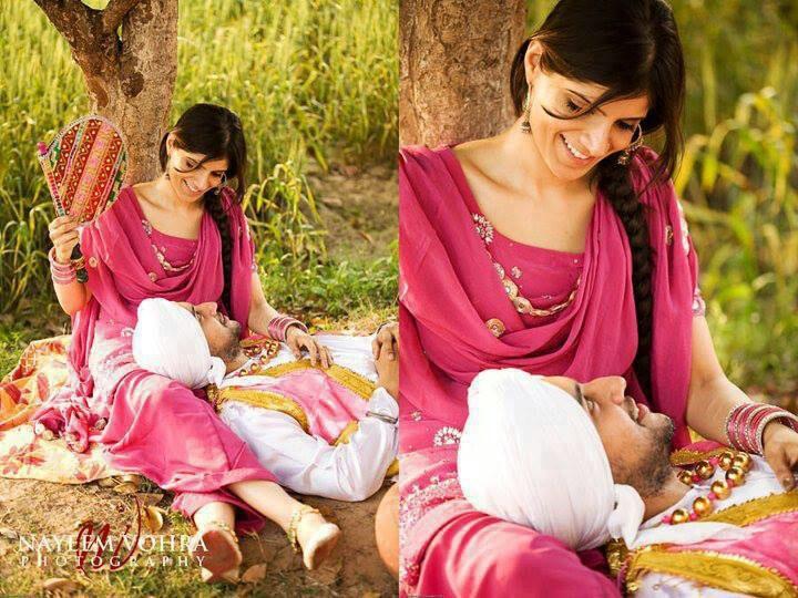 Punjabi couple   Couple   Pinterest