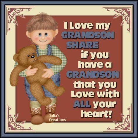 I Love You Grandson Quotes. QuotesGram - 46.7KB