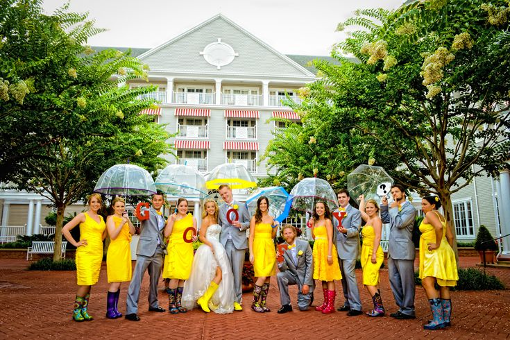 Rain or Shine, this wedding will go on