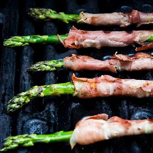 GRILLED PROSCIUTTO WRAPPED ASPARAGUS   Fabulous Food   Pinterest