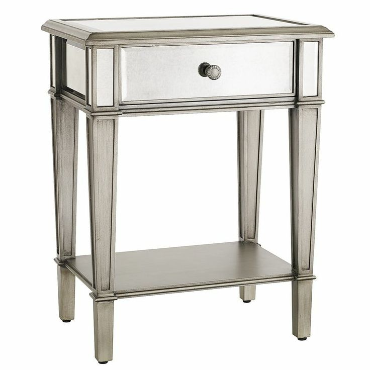 Mirrored Nightstand Home Is Where The Heart Is Pinterest