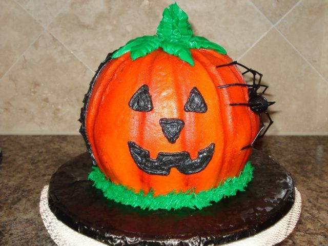 jack o lantern cakes