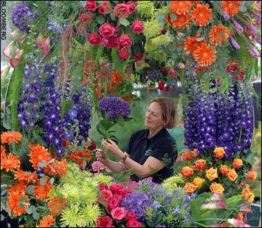 go to the London Chelsea Flower Show.