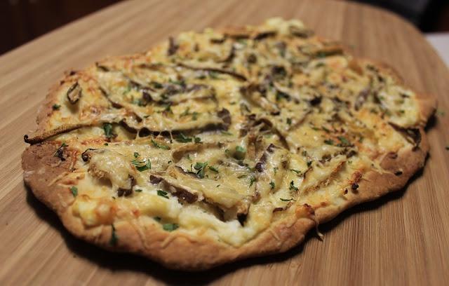Shiitake Pizza | Interesting Recipes | Pinterest