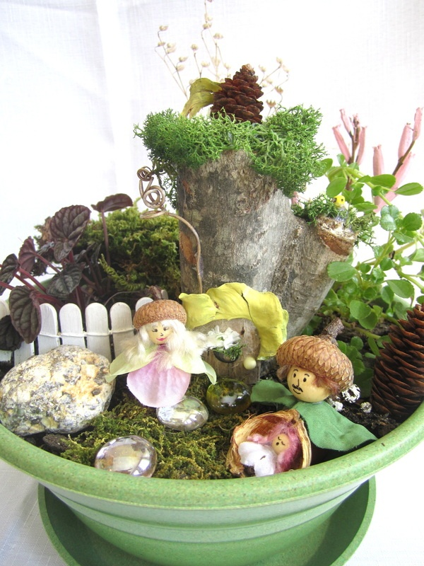 Fairy Garden Kits - Whimwinnsie Etc. | Fairy Houses and. Gardens | Pi ...