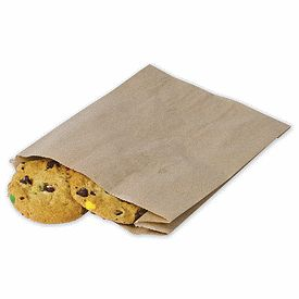 Food Service Bags | Kraft Sandwich/Pastry Bags | 60-060208-SW by Bags