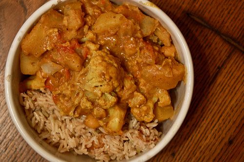 indian cauliflower and potato curry | Food | Pinterest