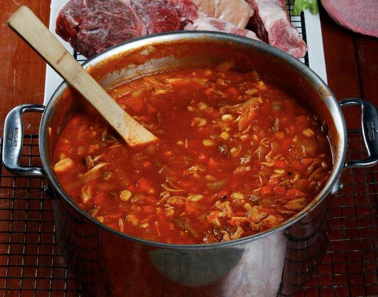 Classic Kentucky burgoo~ Mix or match whatever meats you choose to ...