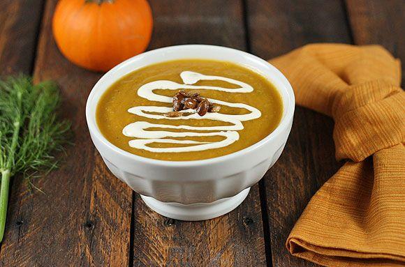 Spiced Squash, Fennel & Pear Soup - SoupAddict.com