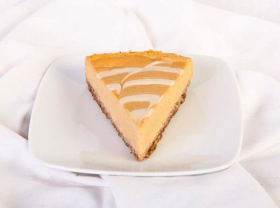 Gluten Free and Vegan Pumpkin Cheesecake